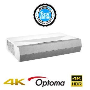 Optoma CinemaX P2 4K UHZ Beamer Heimkino Klang Edition