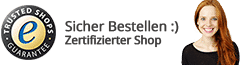 Trusted Shops Banner Footer Dunkel